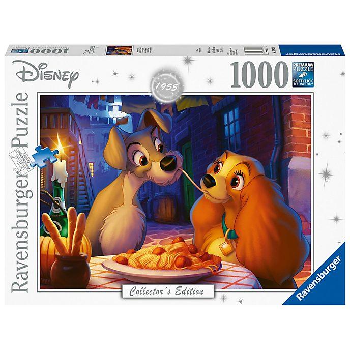 Ravensburger Puzzle 1000pièces La Belle et le Clochard, Disney Collector's Edition
