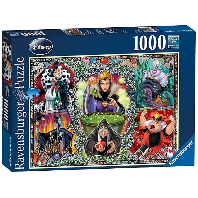 Ravensburger Puzzle 1 000 pièces Disney Villains, Disney Collector's Edition