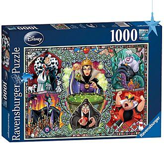 Ravensburger Puzzle 1000pièces Disney Villains, Disney Collector's Edition