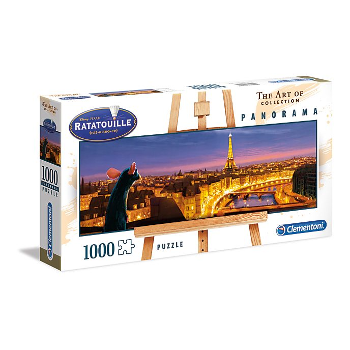 Clementoni - Ratatouille - Panorama-Puzzle mit 1.000Teilen