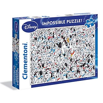 Clementoni Puzzle impossible 1000pièces Les 101Dalmatiens
