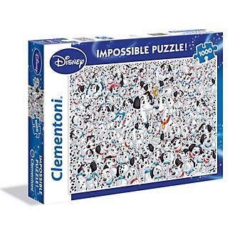 Clementoni puzle imposible 1.000 piezas 101 Dálmatas