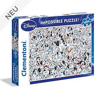 Clementoni - 101 Dalmatiner - Unmögliches Puzzle mit 1.000Teilen