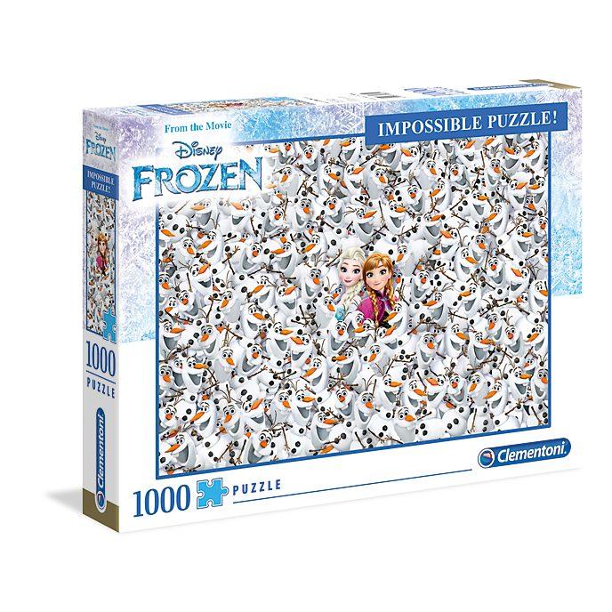 Puzzle 1000 pezzi Impossible Frozen - Il Regno di Ghiaccio Clementoni