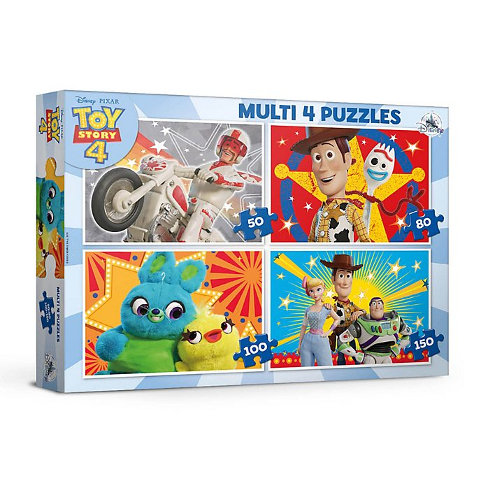 Educa Toy Story 4 Puzzles, Set of 4