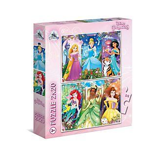 Clementoni Lot de 2puzzles Princesses Disney