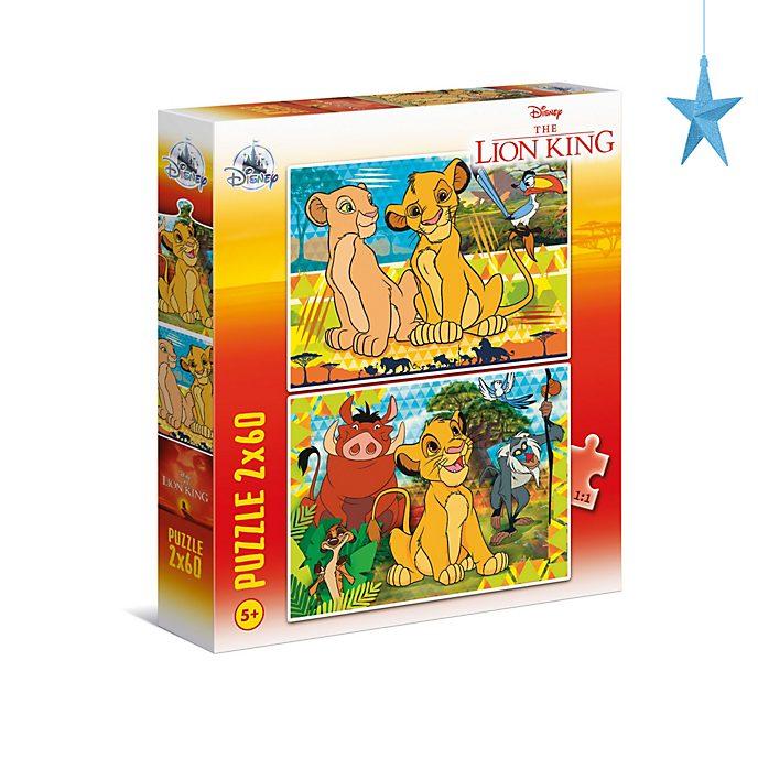 Il Re Leone Clementoni, 2 puzzle