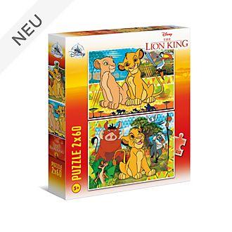 Clementoni - Der König der Löwen - Set mit 2Puzzles