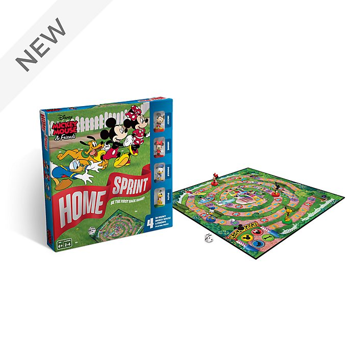 Mickey and Friends Home Sprint Board Game
