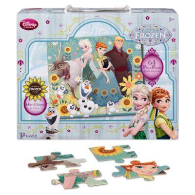 Puzzle 64 pièces La Reine des Neiges : une Fête Givrée