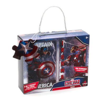 Puzzle 2 en 1 Avengers Captain America et Iron Man