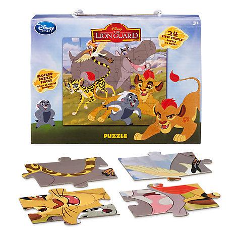 Løvernes garde puslespil med 24 brikker