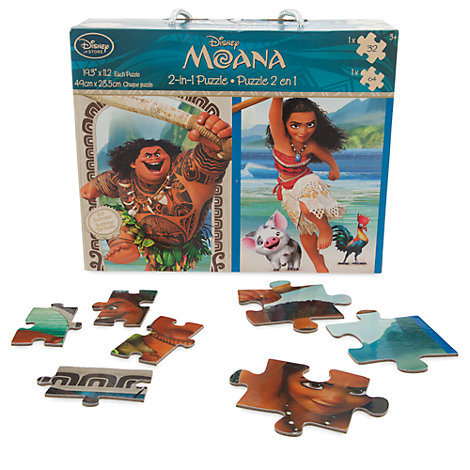Moana 2 in 1 Puzzle Set