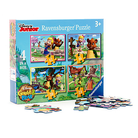 Goldie und Bär - 4-in-1 Puzzle
