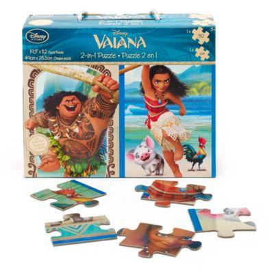 Puzzle Vaiana 2 en 1