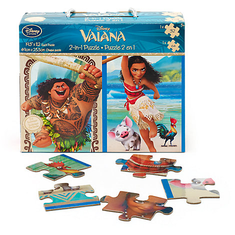 Vaiana 2-in-1 Puzzle Set