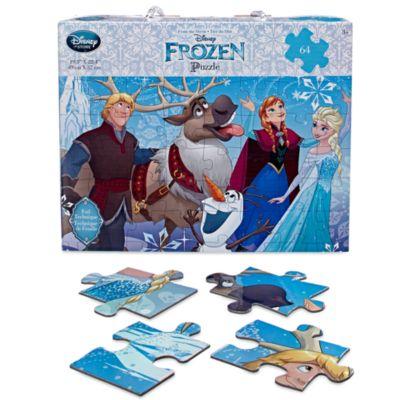 Frost-puslespil med 64 brikker