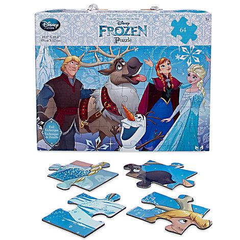 Puzzle 64 pièces La Reine des Neiges