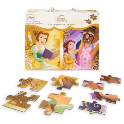 Ensemble de puzzles 2-en-1 la Belle et la Bête