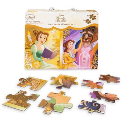 Set di puzzle 2 in 1 La Bella e la Bestia