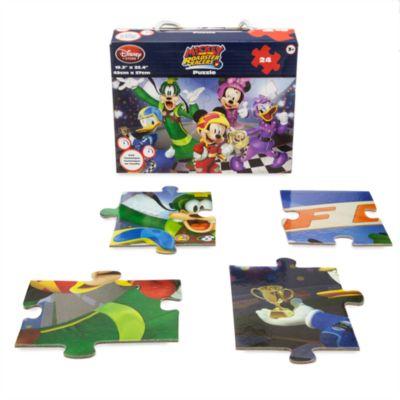 Mickey og Racerholdet puslespil med 24 brikker