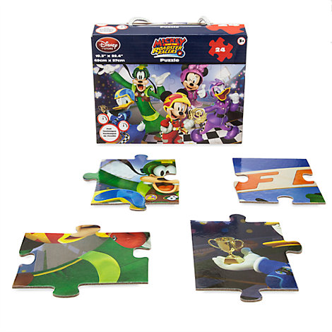 Micky und die Roadster Racer – 24-teiliges Puzzle