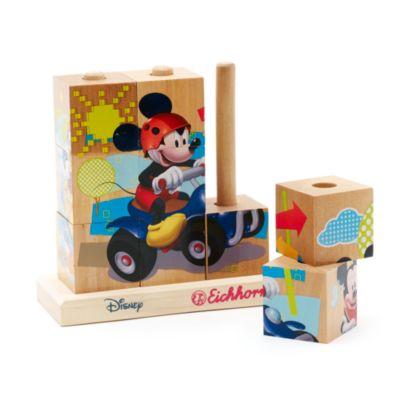 Puzzle cubi di legno Topolino