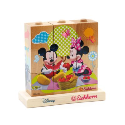 Micky Maus - Würfelpuzzle aus Holz