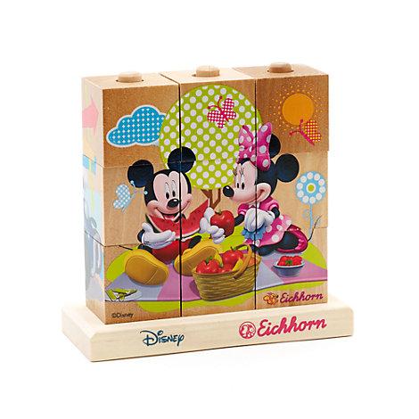 Mickeys Mouse puslespil af træklodser