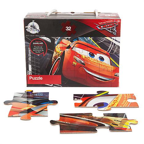 Disney Pixar Biler 3 puslespil med 32 brikker