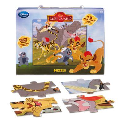 Puzzle métallisé La Garde du Roi Lion 24pièces