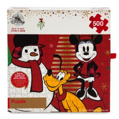 Puzle festivo 500 piezas Mickey Mouse y sus amigos