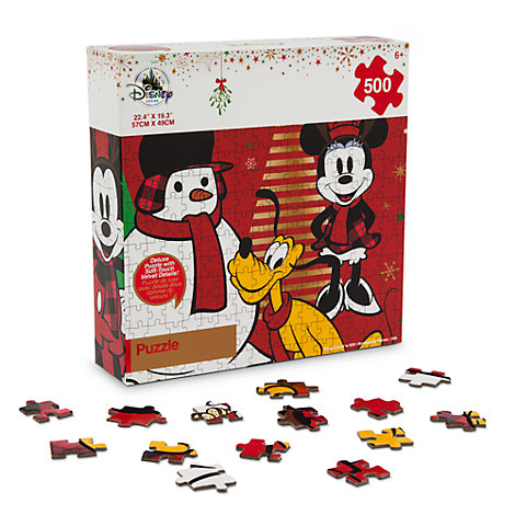 Mickey Mouse and Friends Festive 500 Piece Puzzle
