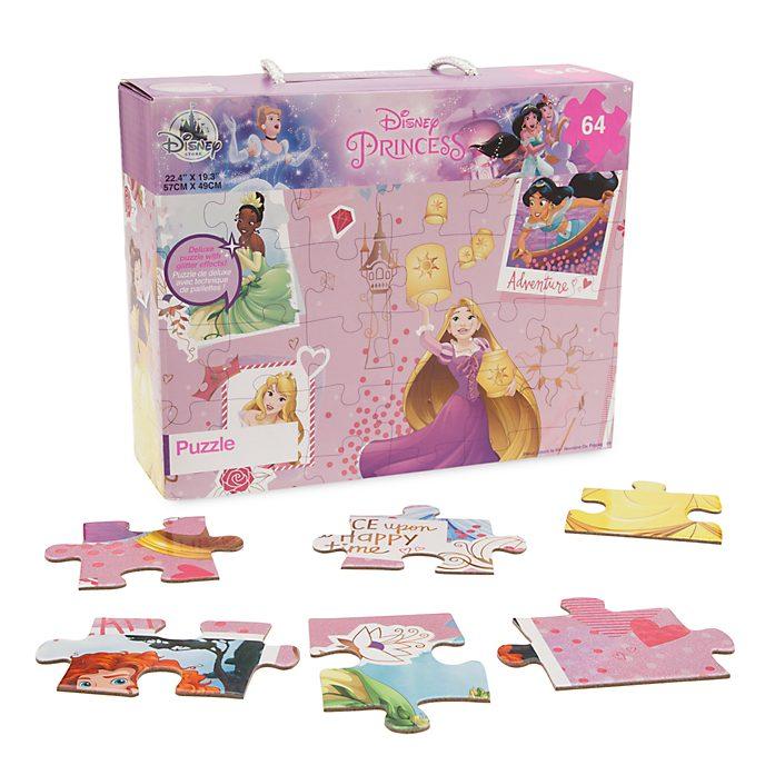 Puzle de 64 piezas de princesas Disney