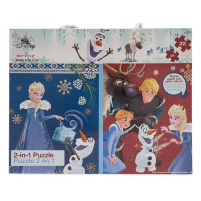Olaf's Frozen Adventure 2-in-1 Puzzle Set