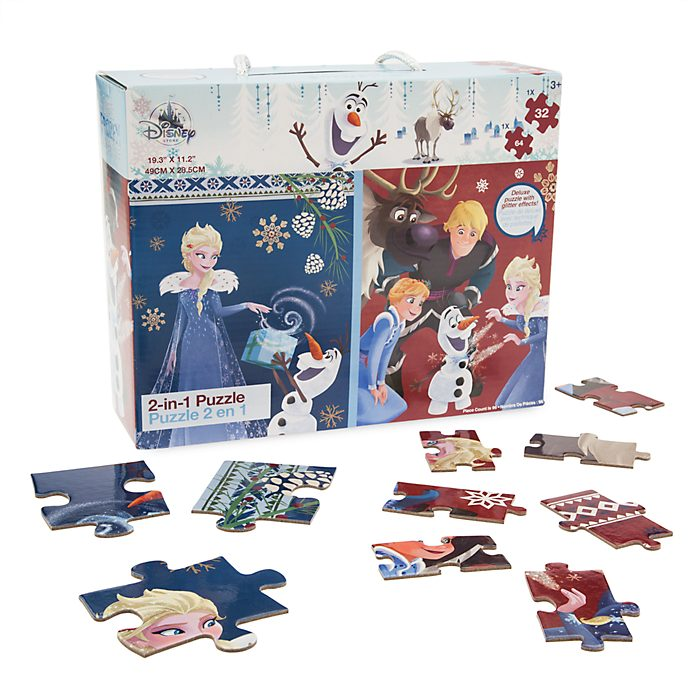 Olaf's Frozen Adventure 2-in-1 Puzzle Set