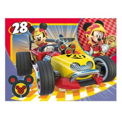 Mickey Mouse Roadster Racers 4 in 1 Puzzle Set