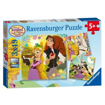 Rapunzel - Neu verföhnt, die Serie - 3-in-1-Puzzleset