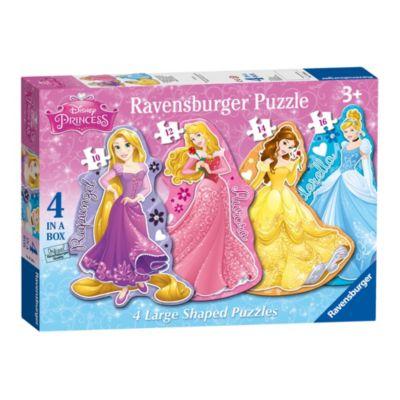 Disney Prinsessor pussel med stora bitar, set om 4