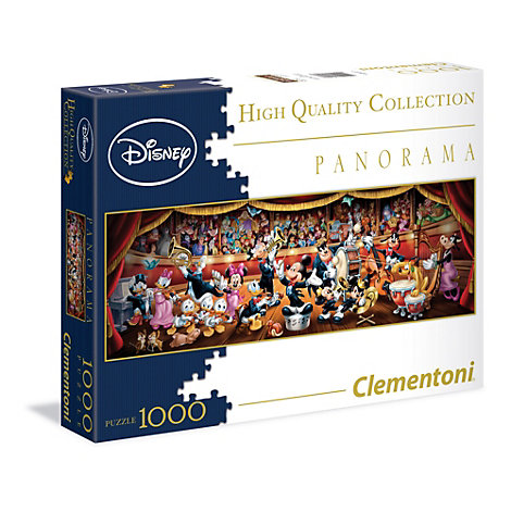 World of Disney - Panorama-Puzzle mit 1.000 Teilen