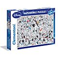 101 Dalmatians 1000 Piece Impossible Puzzle
