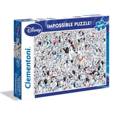 Puzle imposible 1000 piezas 101 Dálmatas