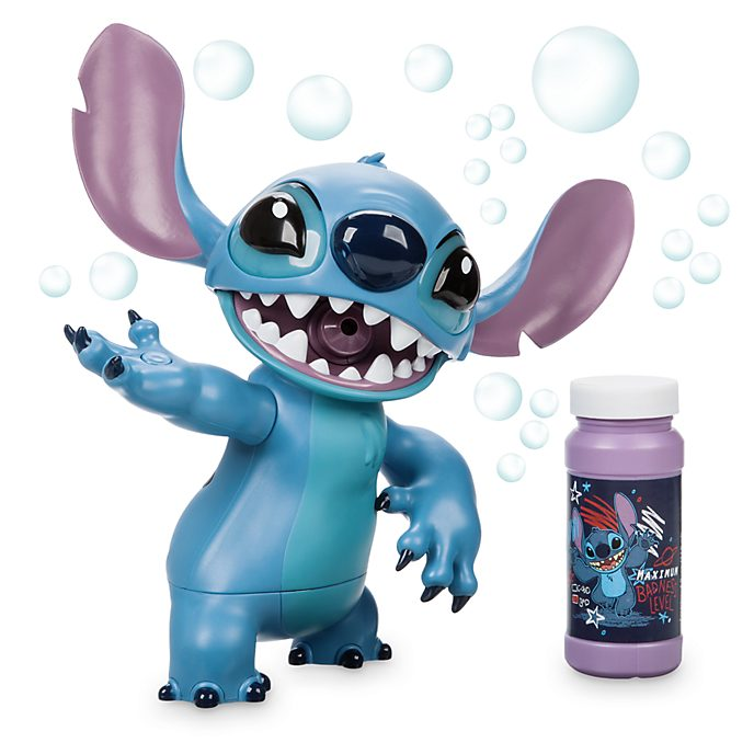 Disney Store Stitch Light-Up Bubble Blower