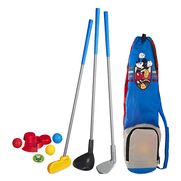 Disney Store Mickey Mouse Golf Playset