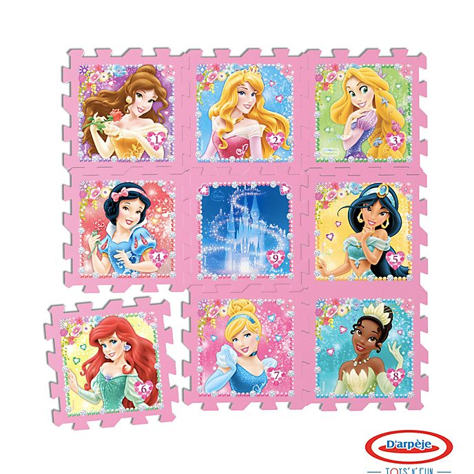 D'arpege Disney Princess 9 Piece Floor Puzzle