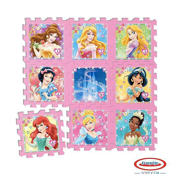 D'arpege - Disney Prinzessin - 9-teiliges Bodenpuzzle