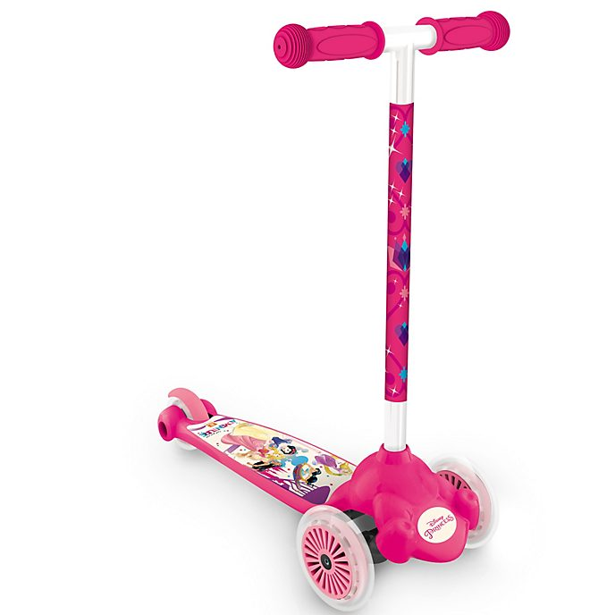 Trottinette 3 roues inclinable Princesses Disney