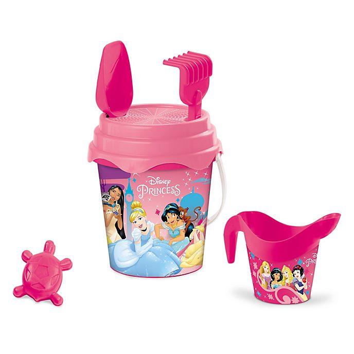 Seau avec jouets de plage Princesses Disney