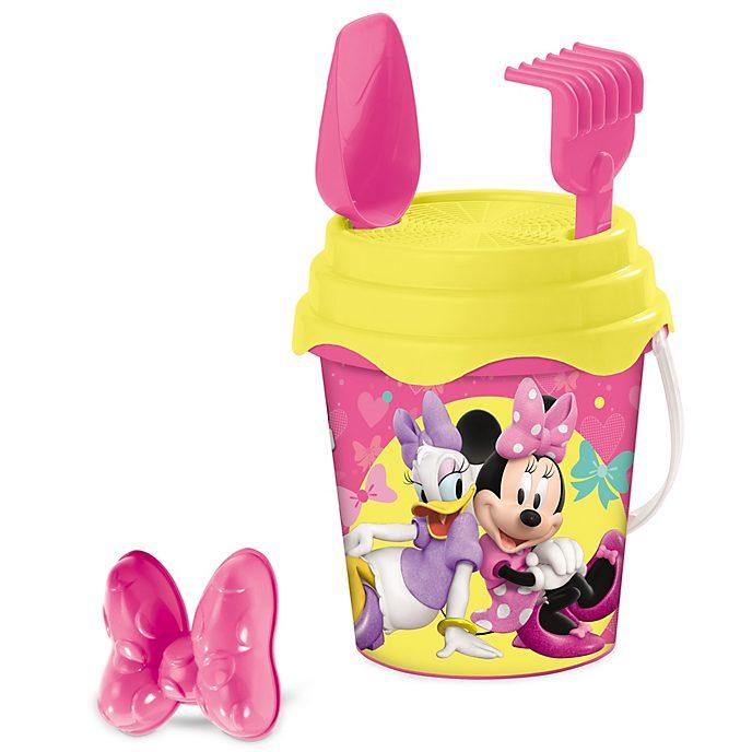 Seau avec jouets de plage Minnie et Daisy