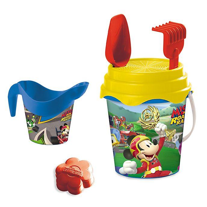 Set de cubo para playa, Mickey y los Superpilotos